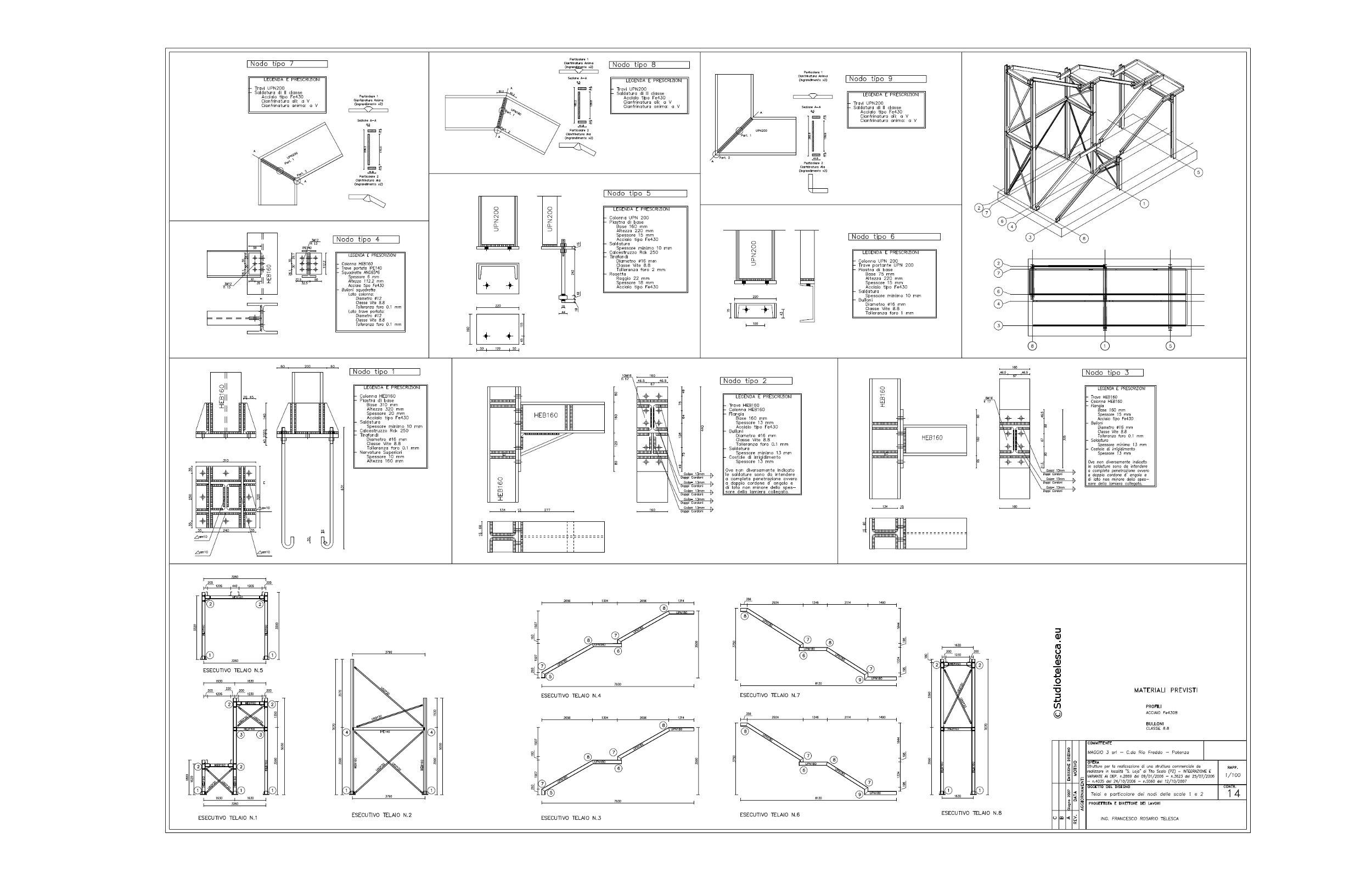 Studio tecnico di ingegneria ing fancesco rosario for Scale in pianta